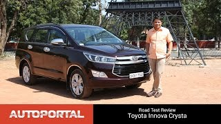 Download Toyota Innova Crysta Test Drive Review - AutoPortal Video