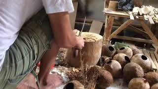 Download Cara Membuat Asbak dari Batok Kelapa Video