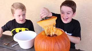 Download Rattlesnakes in my Jack O' Lantern! Vicious Snake Toys get in to the Pumpkin for Halloween! Video