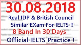 Download IELTS LISTENING PRACTICE TEST WITH ANSWERS | 30.08.2018 | BEST TEST Video