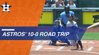 Download Astros' incredible 10-0 road trip Video