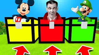 Download Minecraft PE : DO NOT CHOOSE THE WRONG CHEST! (Mickey Mouse, Vampire & Luigi) Video