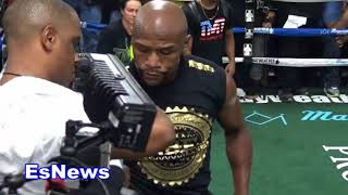 Download Floyd Mayweather Reveals Why He Never Watches His Own Fights! EsNews Boxing Video