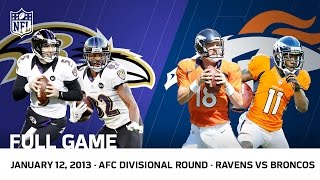 Download Flacco's Hail Mary | Ravens vs. Broncos 2012 AFC Divisional Playoffs | NFL Full Game Video