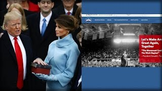 Download TRUMP TAKES OFFICE, IMMEDIATELY 1 TERM DELETED ACROSS ENTIRE WHITE HOUSE WEBSITE Video
