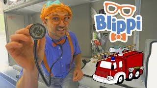 Download Blippi Fire Trucks for Toddlers | 1 Hour Educational Videos for Children Video