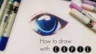 Download TUTORIAL: Simple soft shading effect on Manga Eye || COPIC & Colored Pencil Video