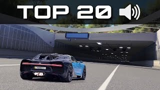Download TOP 20 BEST SOUNDING CARS 🔊 | Forza Horizon 3 | Blow Offs, Crackles & Pops Video