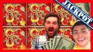 Download JACKPOT! HANDPAY! Nate Wanted To Play One More Slot Before We Left The Casino... THANK GOD HE DID!!! Video