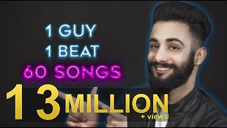 Download 1 GUY | 1 BEAT | 60 SONGS | Aarij Mirza | Mashup Video