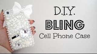 Download DIY Bling 3D Cell Phone Case! Video