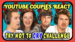 Download YOUTUBE COUPLES REACT TO TRY NOT TO CRY CHALLENGE (Love Edition) Video