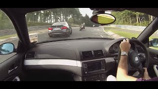 Download BMW E46 M3 vs M4 Nurburgring Nordschleife Video