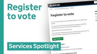 Download Register to vote on GOV.UK Video