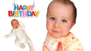 Download 1 Year in 100 SECONDS | First Year of Baby's Life from Birth Video