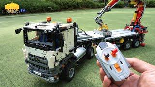 Download LEGO Technic 42043 B model - RC Motorized Mercedes-Benz Arocs 3245 by 뿡대디 Video