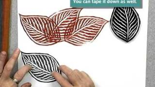 Download A Quick, Easy Masking Tip for Fabric and Paper Stamping Video