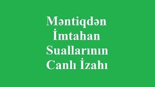 Download Məntiqdən İmtahan Suallarının İzahı Video