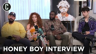 Download Shia LaBeouf and the 'Honey Boy' Cast/Director Laugh Way Too Much During This Interview Video