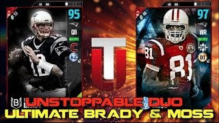 Download TOM BRADY & RANDY MOSS REUNITE! UNSTOPPABLE DUO! MADDEN 17 ULTIMATE TEAM Video