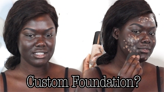 Download Custom Foundation From An App | MatchCo|| Dark Skin || NYMA TANG Video