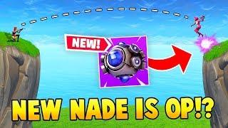 Download *NEW* SHOCKWAVE NADE IS OP!? (Fortnite FAILS & WINS #18) Video