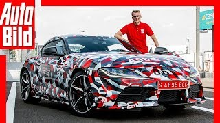 Download Toyota Supra (2019) Erste Fahrt / Review / Erklärung Video