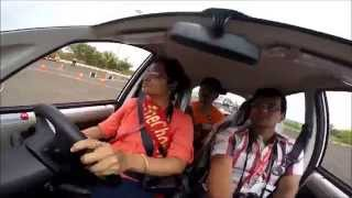 Download Indrani Ghose driving GenxNano easy shift Video