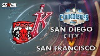 Download CCCAA Men's Basketball Final: San Diego City vs CCSF - 3/11/18 - 3:30pm Video