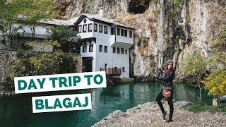 Download Day Trip to Blagaj Dervish House from Mostar, Bosnia and Herzegovina travel vlog Video