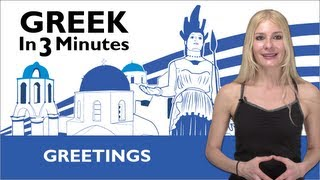 Download Learn Greek - How to Greet People in Greek Video