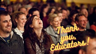 Download One of the Funniest Educational Motivational Speakers for Education Conferences Video