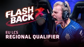 Download FLASHBACK // EU LCS Regional Qualifiers Video