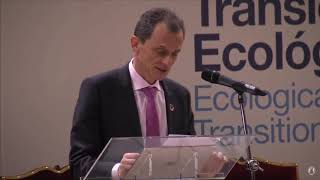 Download Intervención del ministro Pedro Duque en el Evento de Alto Nivel sobre la Transición Ecológica Video