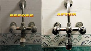 Download Bathroom Cleaning Tips:- How to Clean a Bathroom Tap and Shower Tap Video