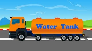 Download Uses Of Truck | Water Tanker | video lori tangki air untuk kanak-kanak | lori untuk kanak-kanak Video