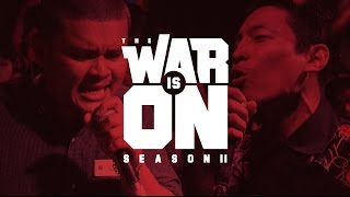 Download THE WAR IS ON SS.2 EP.5 - 23STREET VS MAIYARAP | RAP IS NOW Video