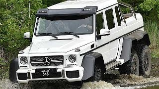 Download ベンツ6輪駆動車「G63AMG 6×6」試乗=斜度45度の崖を難なく登坂 Video