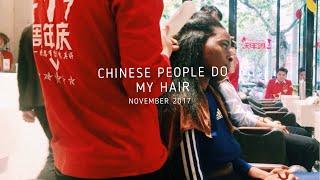 Download BLACK GIRL gets hair done IN CHINA (FAIL!) | Shanghai, CHINA| Maryjane Byarm Video