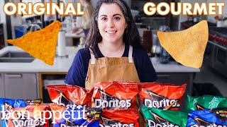Download Pastry Chef Attempts to Make Gourmet Doritos | Gourmet Makes | Bon Appétit Video