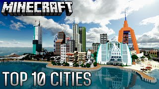 Download Top 10 INSANE Minecraft Cities of ALL-TIME (1.8.8) Video
