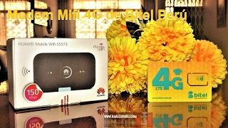 Download Probando el Modem Mifi Huawei E5573 4G de Bitel Perú Video