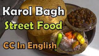 Download Karol Bagh, New Delhi street food | Bhature, Gol gappe, Tikki, Chicken roll & more Video