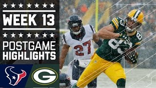 Download Texans vs. Packers | NFL Week 13 Game Highlights Video