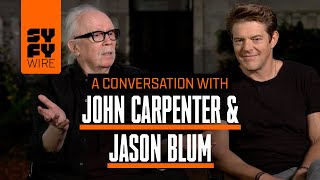 Download Halloween's John Carpenter & Jason Blum In Conversation (Crossover) | SYFY WIRE Video