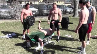 Download Rocky Mountain College Football Strongman Competition 2013 Video