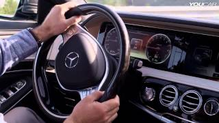Download 2014 Mercedes S 400 Hybrid on the road Video