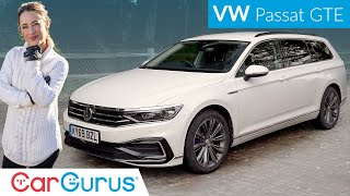 Download Volkswagen Passat GTE (2020) review: Jack of all trades, but a master of any? | CarGurus UK Video