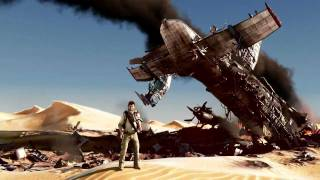 Download Uncharted 3 Plane Crash Scene Video