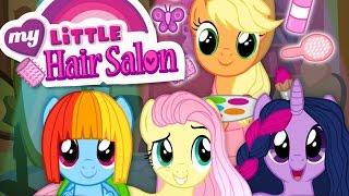 Download MLP Hair Salon: Hairdresser Applejack | Twilight Sparkle, Rainbow Dash & Fluttershy Makeover Video